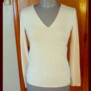 Zara NWT, V neck, long sleeve sweater. Size S